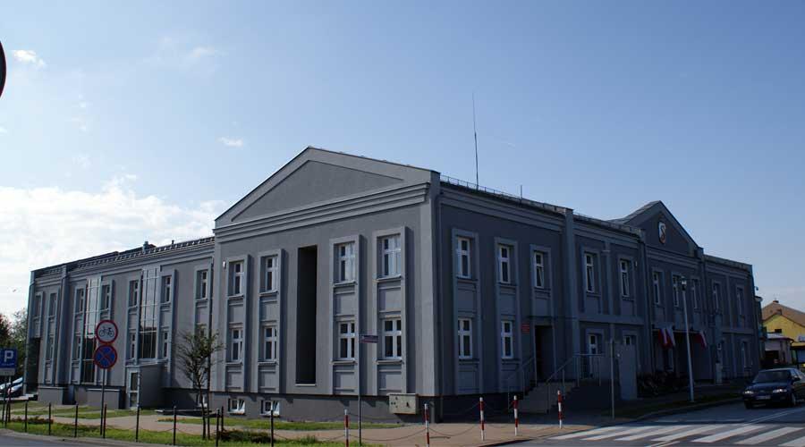 przebudowa budynku Urzędu Miejskiego